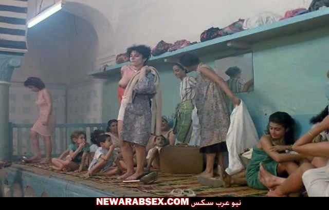 بنات تونسيات عربيات في حمام