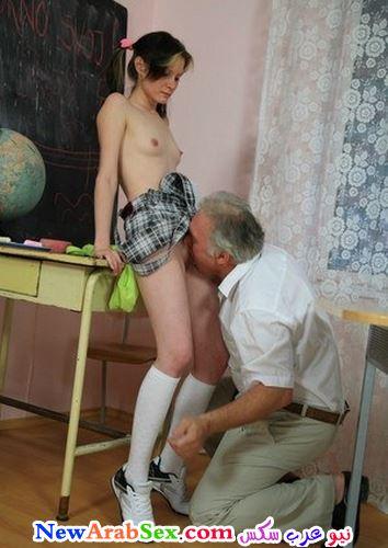 مدرس يلحس كس تلميذته